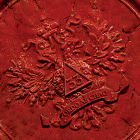 "The wax seal on the front cover of The Lost Symbol bears the Latin motto Ordo Ab Chao—""Order out of Chaos."""