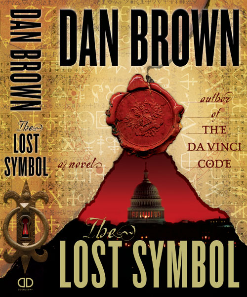 The US Cover to Dan Brown's The Lost Symbol